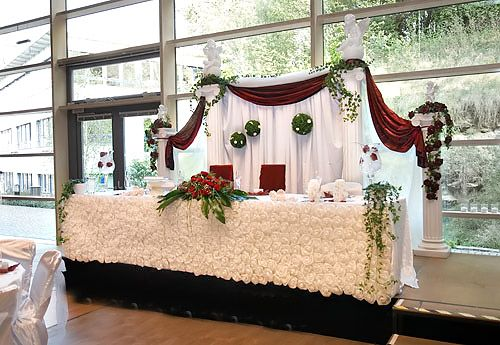 Luxurious Bride And Groom Table Setup | Bride And Groom Table Setup |  Pinterest