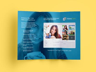 ManyCam Trifold Brochure