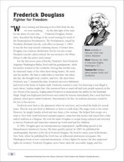 Frederick Douglas Nonfiction Passage Crossword Puzzle Alva Edison Essay Questions