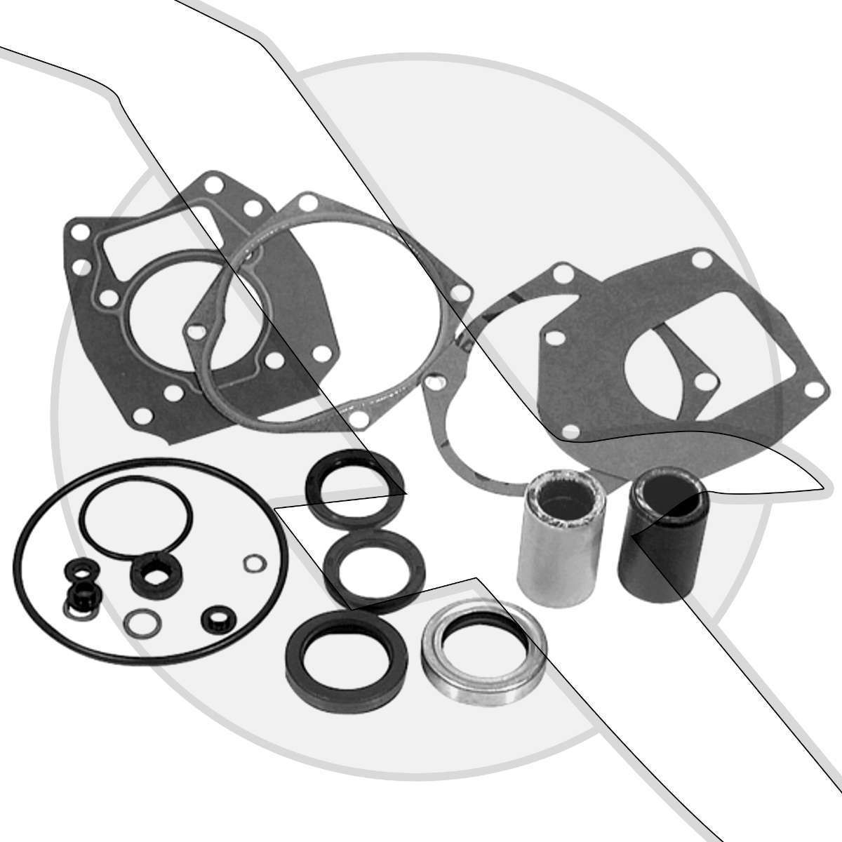mercury marine outboard lower unit gear housing seal kit 26 43035a4 115Hp Evinrude Boat Motor mercury marine outboard lower unit gear housing seal kit 26 43035a4