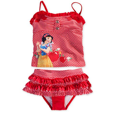 f38d3f53cd Snow White Deluxe Swimsuit for Girls | Swimwear | Disney Store | Kid ...