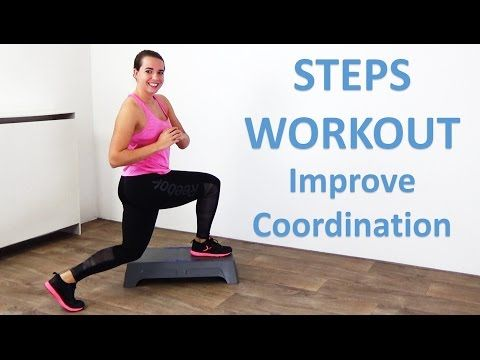 10 Minute Steps Workout For Beginners Coordination Improving