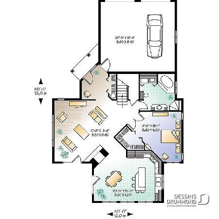 Plan de maison unifamiliale Orléans No 2603 in 2018 4 cs best