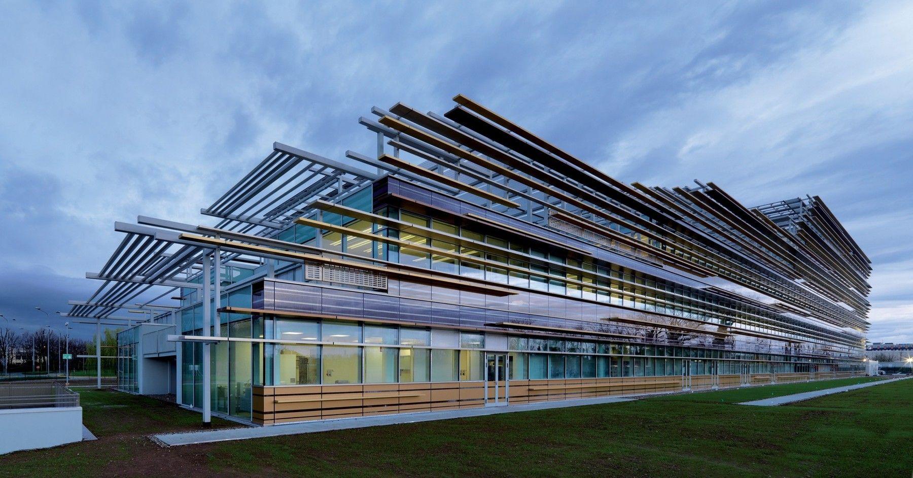 3m Italia Headquarters Arhitektory Promyshlennaya Arhitektura