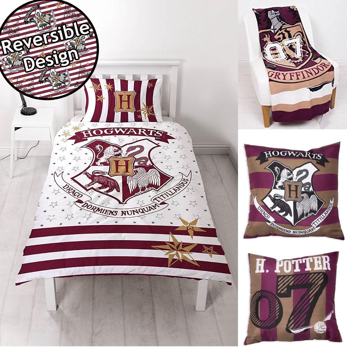 Bettwäsche 155x220 Harry Potter Hogwarts Bettwäsche