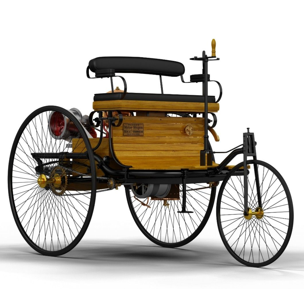 Benz 1885 The First Stationary Gasoline Engine With Images