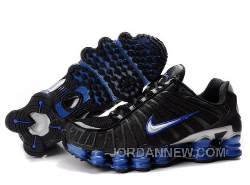 http://www.jordannew.com/mens-nike-shox-tl-shoes-black-blue-silver-discount.html MEN'S NIKE SHOX TL SHOES BLACK/BLUE/SILVER DISCOUNT Only $79.82 , Free Shipping!