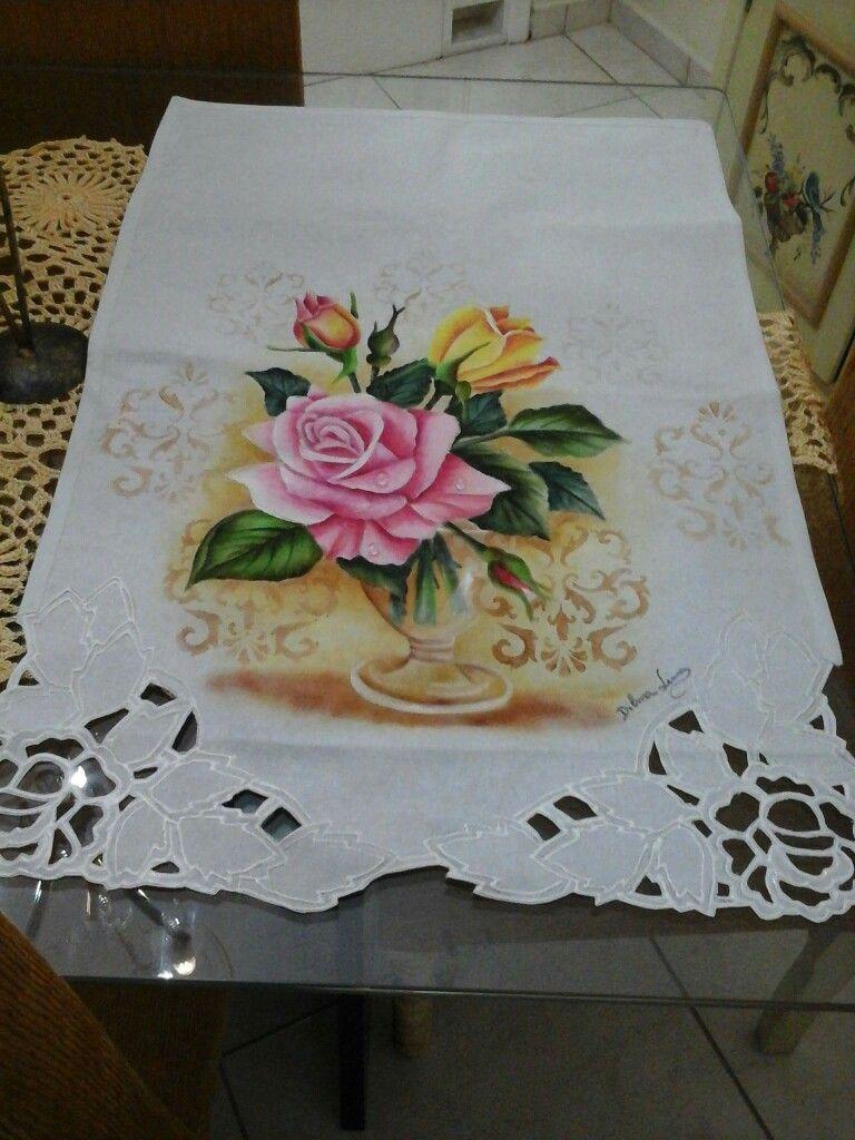 Pin de adriana perez en pintura en tela pintura em tecido rosas pintura em tecido y ideias - Dibujos para pintar en tela ...
