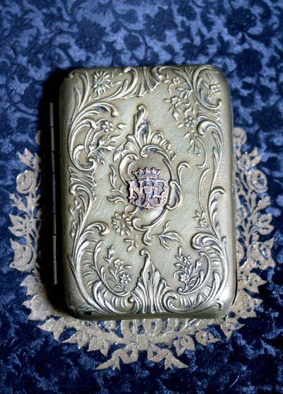 Vintage French Cigarette Case