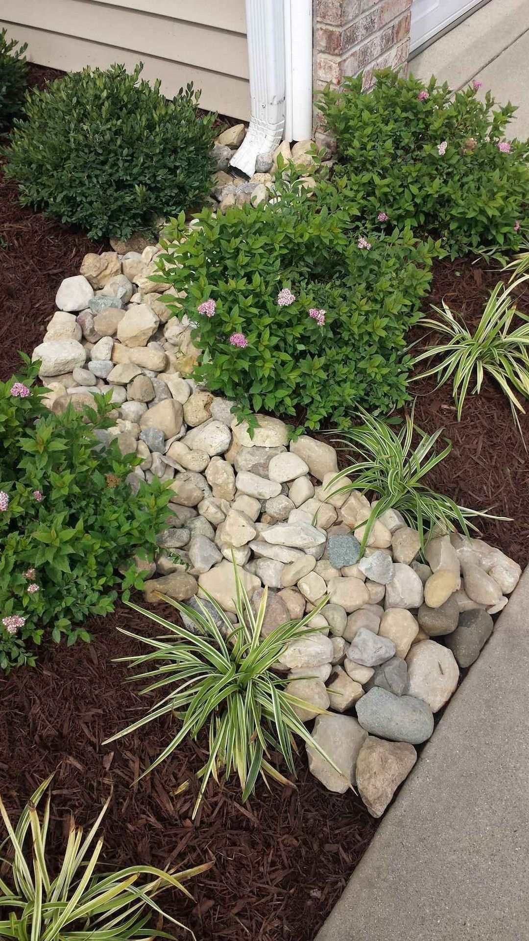 Porch Landscaping Ideas For Your Front Yard Rock Garden Design Front Yard Landscaping Design Rock Garden Landscaping
