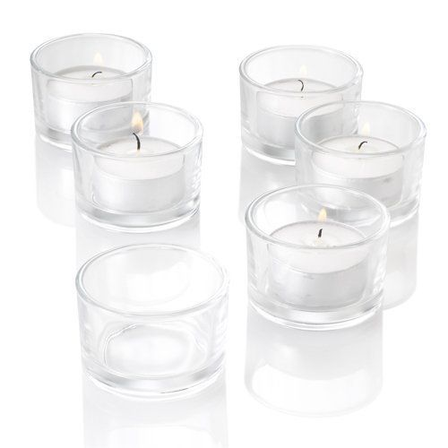 Made in the USA 1000 Clear Plastic Tealight Cups Wholesale