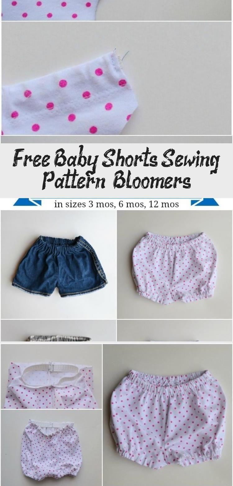Kostenlose Baby Shorts Schnittmuster + Bloomers - Gesundheit und Ernährung Fitness, #Baby #BabyCloth...