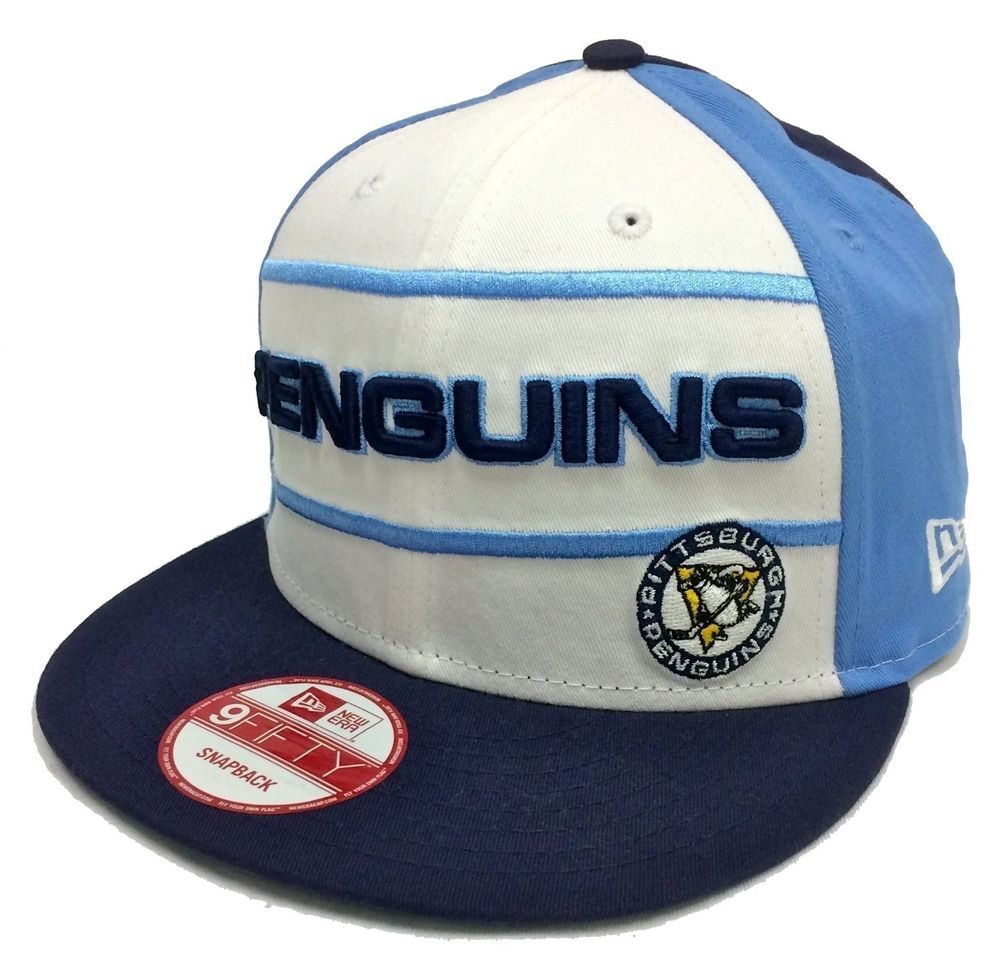 outlet online outlet boutique outlet on sale Pittsburgh Penguins Hockey Hat New Era Cap Snapback Stanley Cup ...