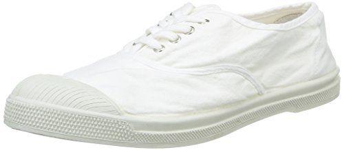 Bensimon Unisex-Kinder Tennis Flo Sneaker, Weiß (Blanc), 35 EU