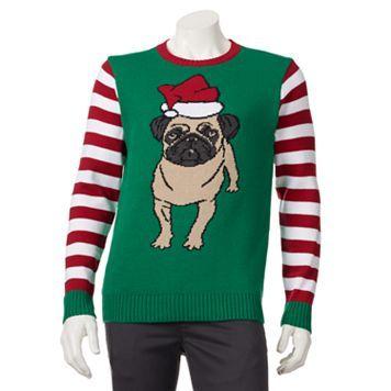 Kohl Ugly Christmas Sweaters.Kohl S Pug Christmas Sweater My Sons Wish List