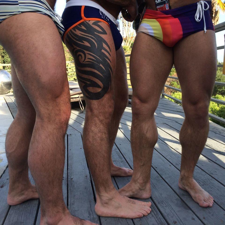 Strong Male Legs : Foto