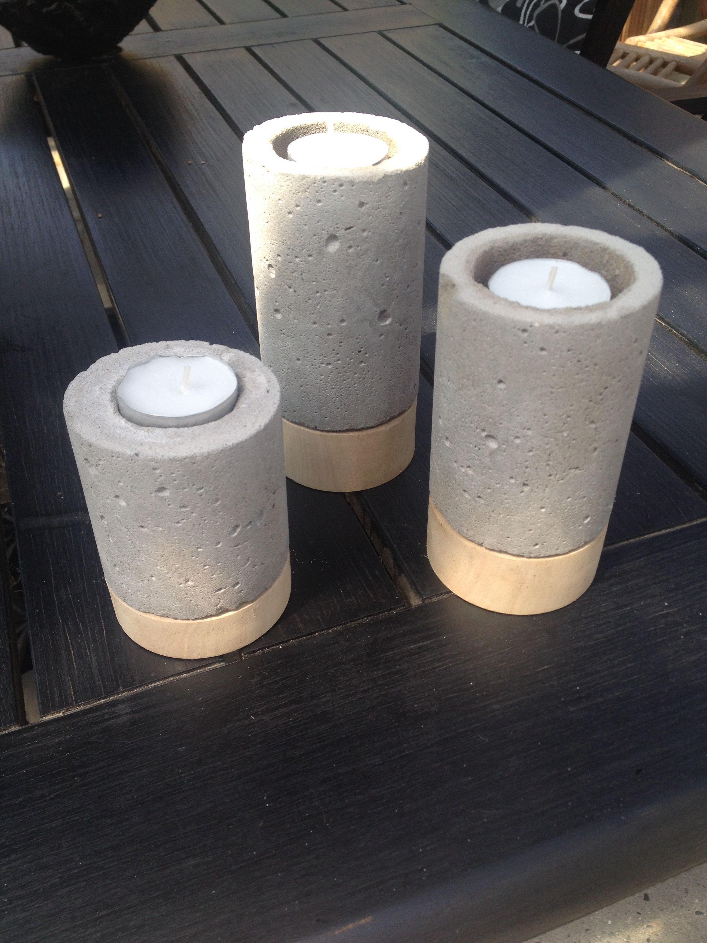 Beton / wood