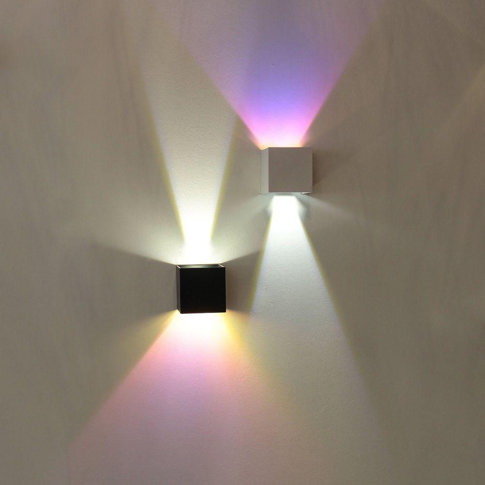Moderne Wandleuchten Mit Lichtstrahl Nach Oben Und Unten Multicolor Wandleuchte Led Wandlampen Led