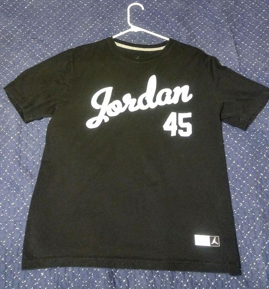 a4b558fb375 Air Jordan Baseball Jersey Tee-Shirt #fashion #clothing #shoes #accessories  #mensclothing #shirts (ebay link)