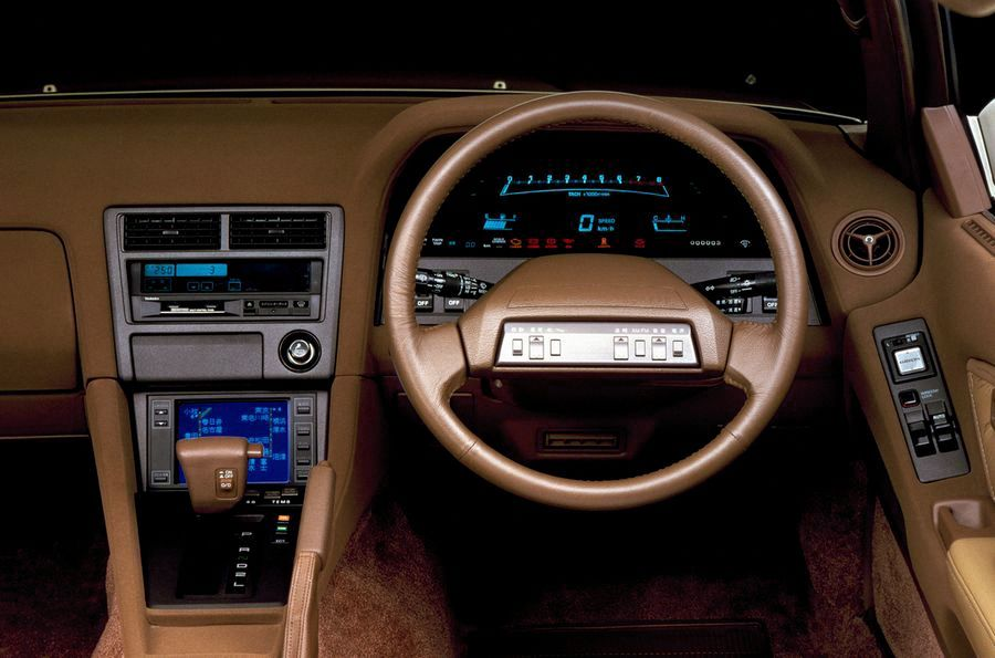 toyota soarer dashboard 1986 1980s japanese 39 high tech 39 design pinterest toyota car. Black Bedroom Furniture Sets. Home Design Ideas