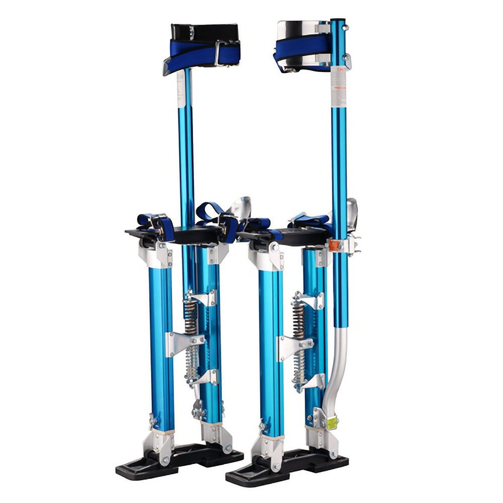 "Pentagon Tool Professional 18""-30"" Blue Drywall Stilts Highest Quality in 