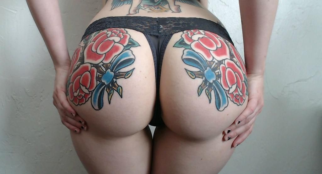 Tattooed Ass Ets 20 Girls With Tattooed Butts Inked Magazine Part 8