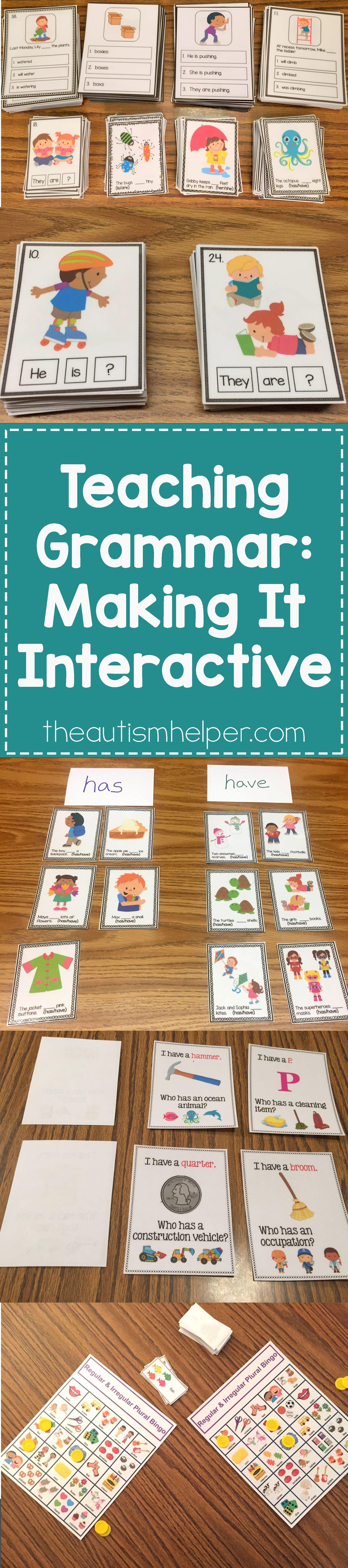 Teaching Grammar Making It Interactive