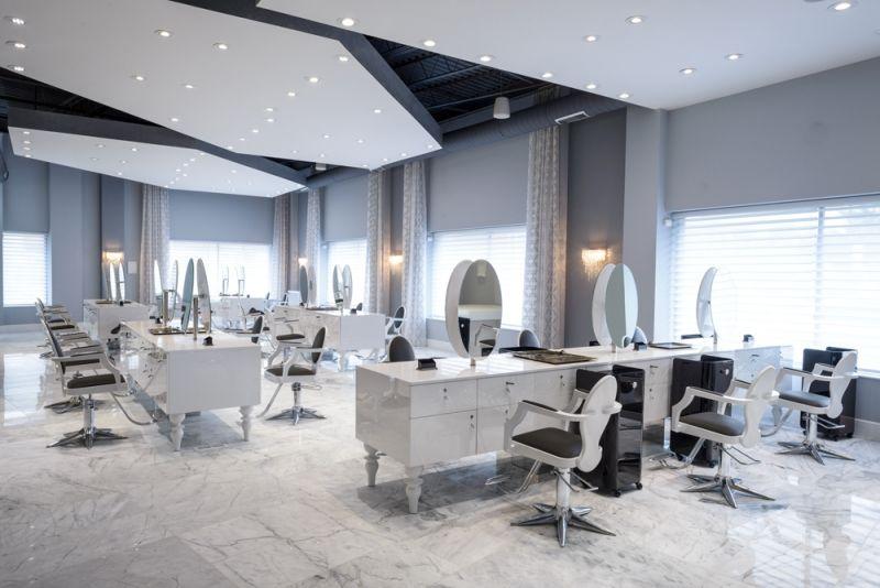 Resultado de imagen de dise o de peluquerias modernas - Diseno de peluquerias ...