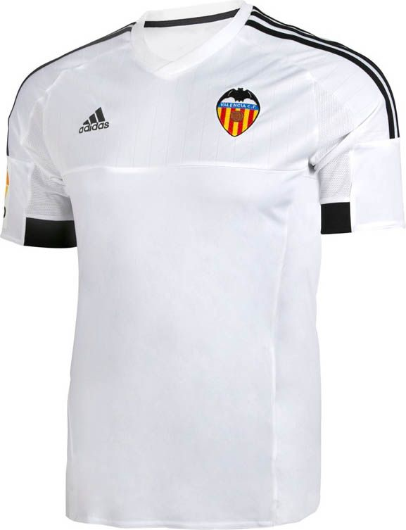 Valencia CF (Spain) - 2015/2016 Adidas Home Shirt