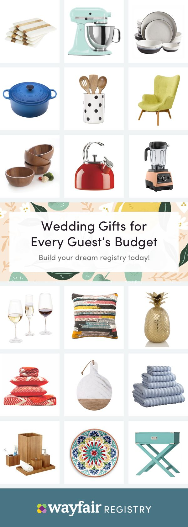 Register With Wayfair Registry To Build Your Happily Ever After From Bedroom Furniture To Kitchen Must H Wayfair Registry Dream Wedding Registry Wedding Gifts