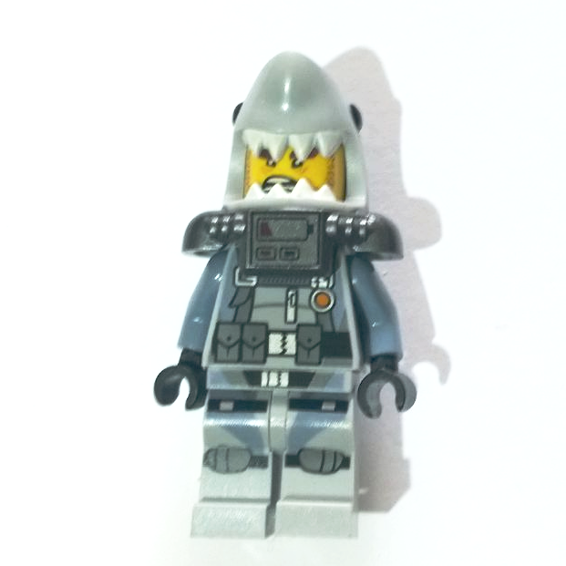 LEGO New Ninjago Shark Army Great White Minifigure
