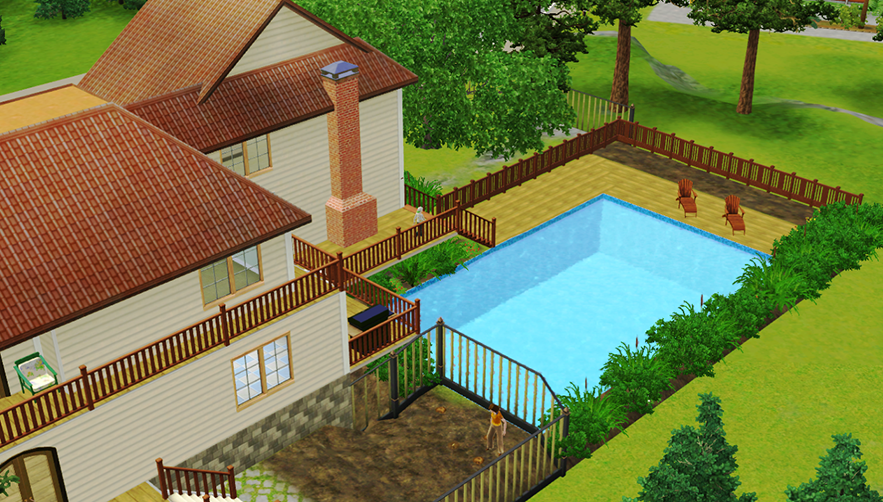 The Sims 3 Sunset Valley house   ~ My The Sims Creations ~