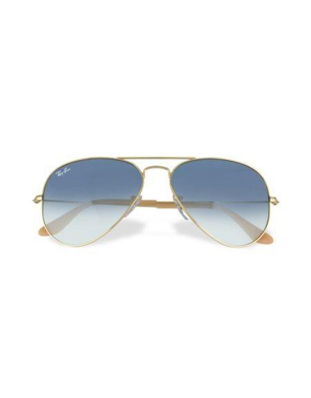 Ray Ban Aviateur - Lunettes de Soleil en métal   Mode homme - Deal ... 721213efee42