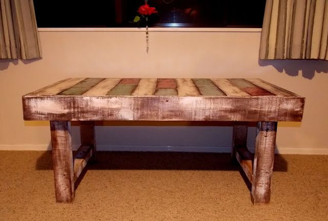 Pallets Coffee Table!!! More photos coming soon to: http://mountpalletart.blogspot.co.nz ...