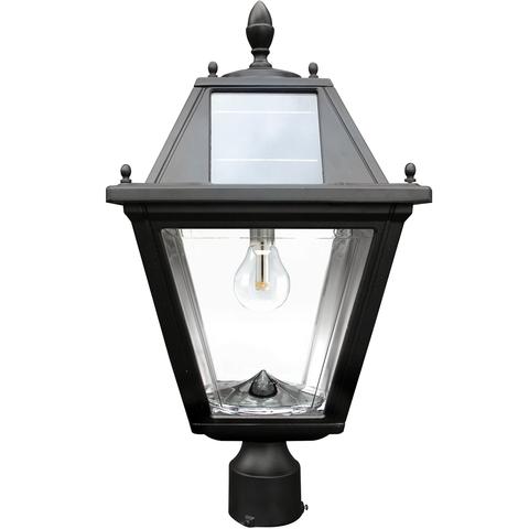 The Gama Sonic Regal Solar Post Light Solar Lamp Solar Post Lights Solar Lamp Post