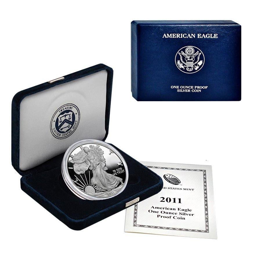 1oz Proof Coin 2011-W American Silver Eagle