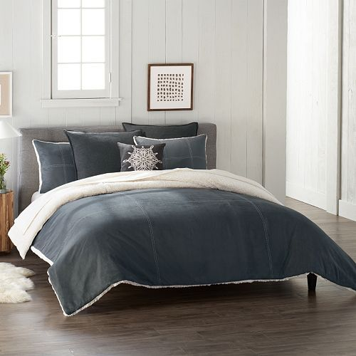Cuddl Duds Sherpa Comforter Set Comforter Sets Comforters Home