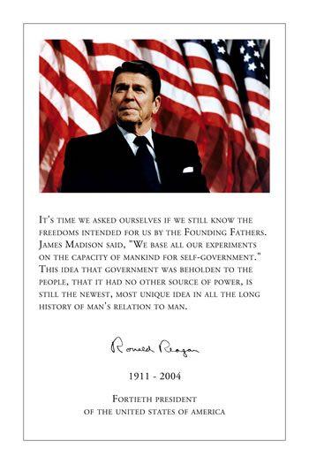 Ronald Reagan Pictures Photos Quotes Posters America America