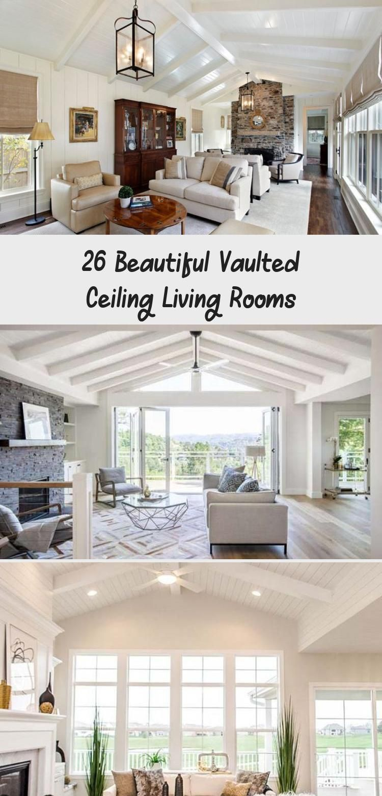 26 Beautiful Vaulted Ceiling Living Rooms Vaulted Ceiling Living Room Chandelier In Living Room Living Room Ceiling