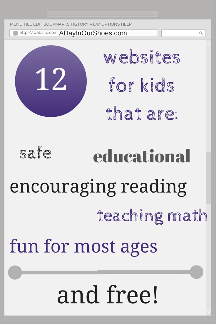 12 Fun and Free Educational Websites your Kids will LOVE