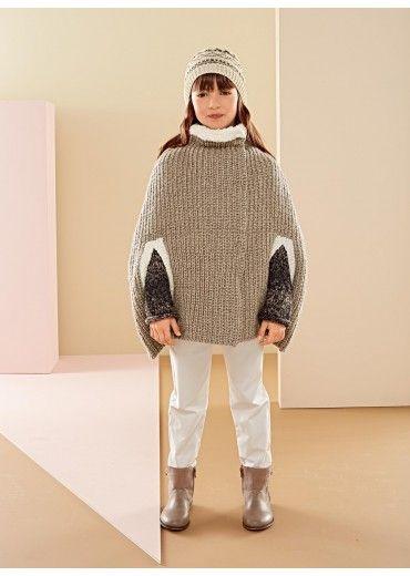 Mag. 180 - n° 24 cape Bergère de France   Modele tricot, Tricot enfant