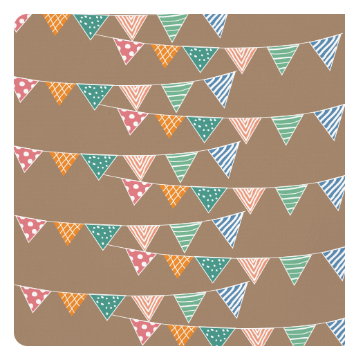 5f400e589f2d Personaliza tu tarjeta Invitación cumpleaños infantil banderitas ...