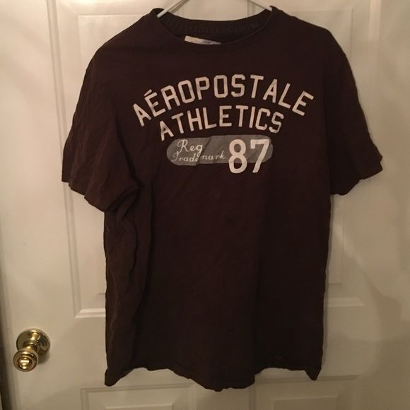 Aeropostale men's T-shirt Aeropostale men's T-shirt.extra large. Used. Great condition Aeropostale Tops Tees - Short Sleeve
