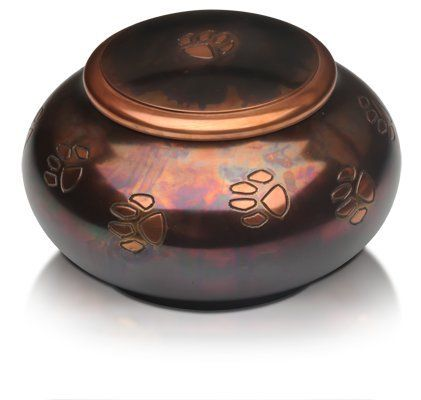Small Decorative Urns Pet Urn Paw Series Cremation Urn For Dogs Cats Ashespet Memory