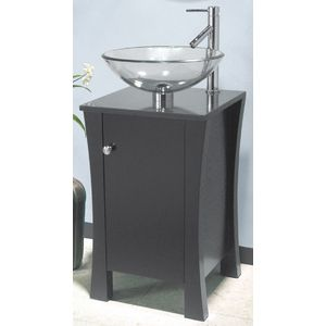 Picture Collection Website Fresca Moselle x Modern Glass Bathroom Vanity FVNBL