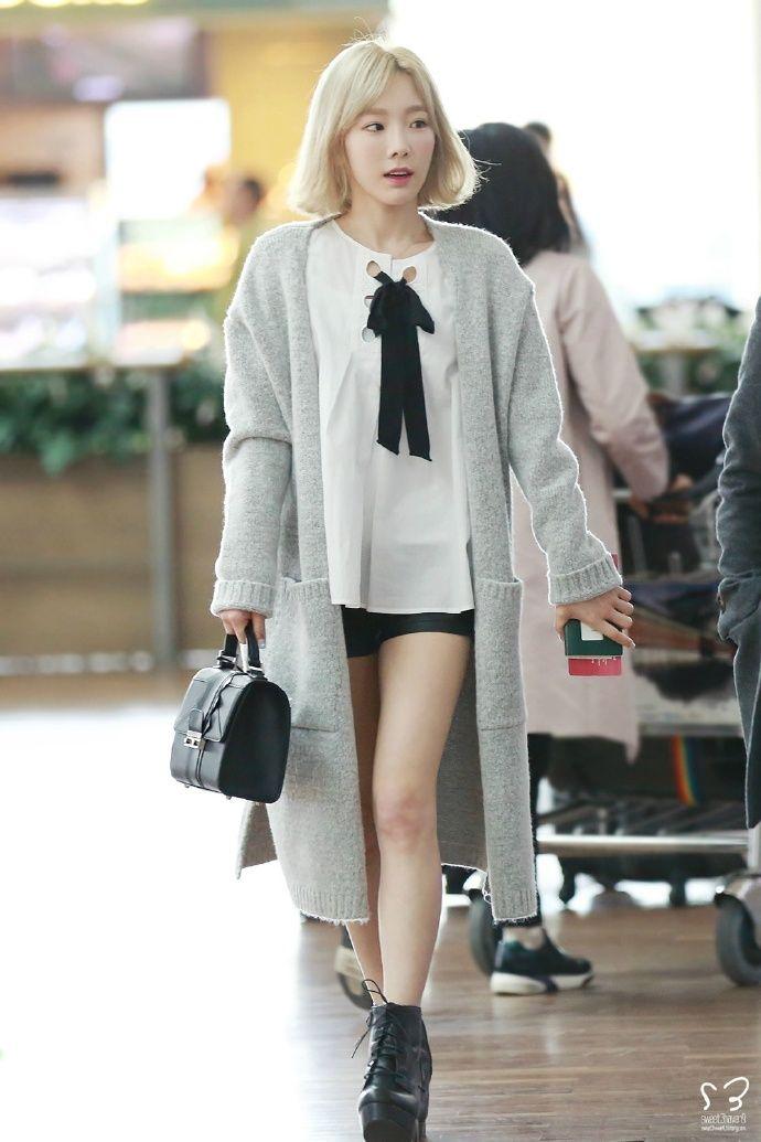 taeyeon fashion taeng pinterest ropa coreana ropa