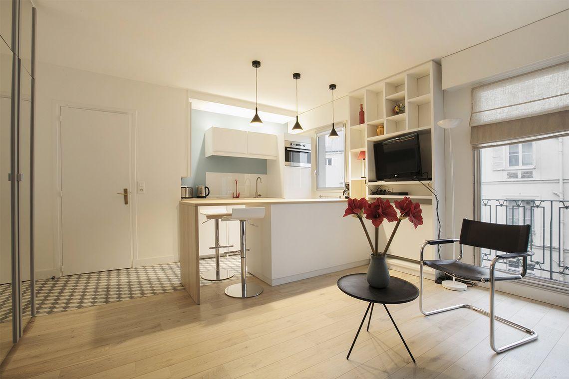 Location Studio Meuble Rue De Lisbonne Paris Ref 15830 Studio Meuble Location Studio Meuble