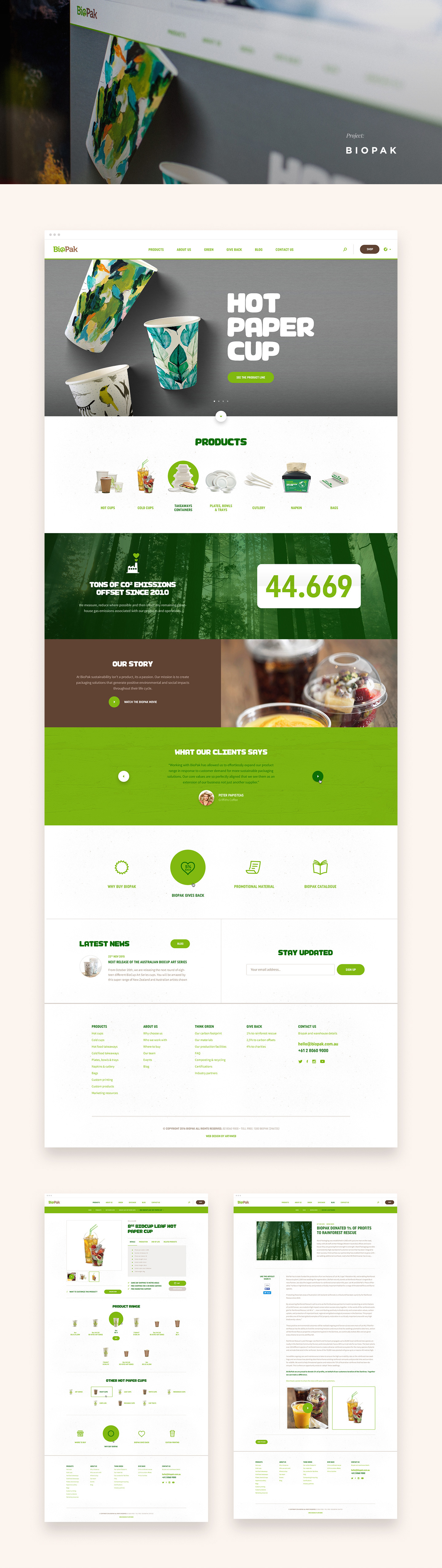 Selected Website Design Projects 2016 2017