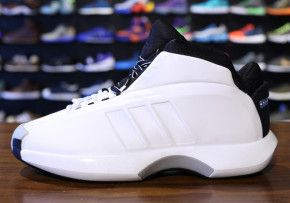 pretty nice 02f8f b2e4a Adidas crazy 1 in all white for the Kobe fans