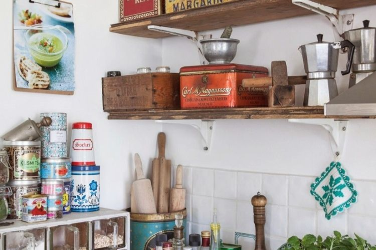 Idée déco cuisine pour mettre l\u0027ambiance, inspirez-vous! - Idee Deco Cuisine Vintage
